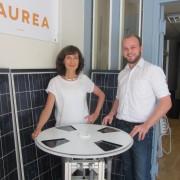 Isabelle Galet-Coty, Présidente et Baptiste Hebert, Responsable Etudes et Production