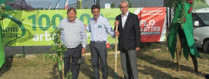 Guy Roux, Christophe Charbonnier-PDG Picq et Charbonnier, Michel Neugnot-Conseiller Régional