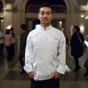 Keigo Kimura, chef étoilé et propriétaire de l'Aspérule à Auxerre