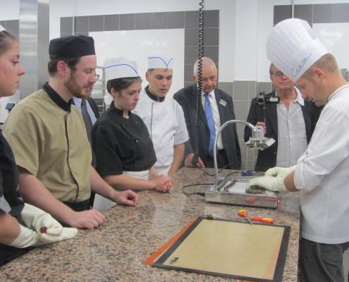 Le travail du sucre par les mentions complémentaires en pâtisserie