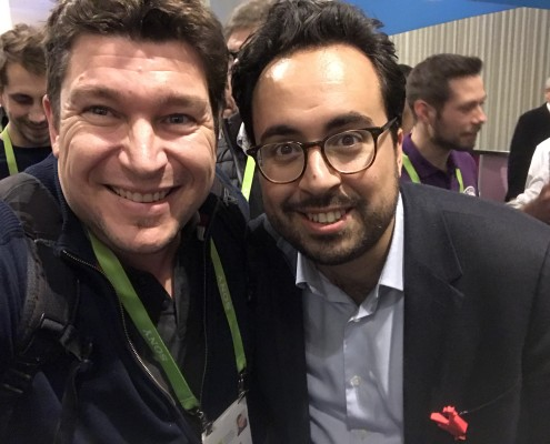 Yannick + Mounir Mahjoubi secrétaire d'état chargé du numérique