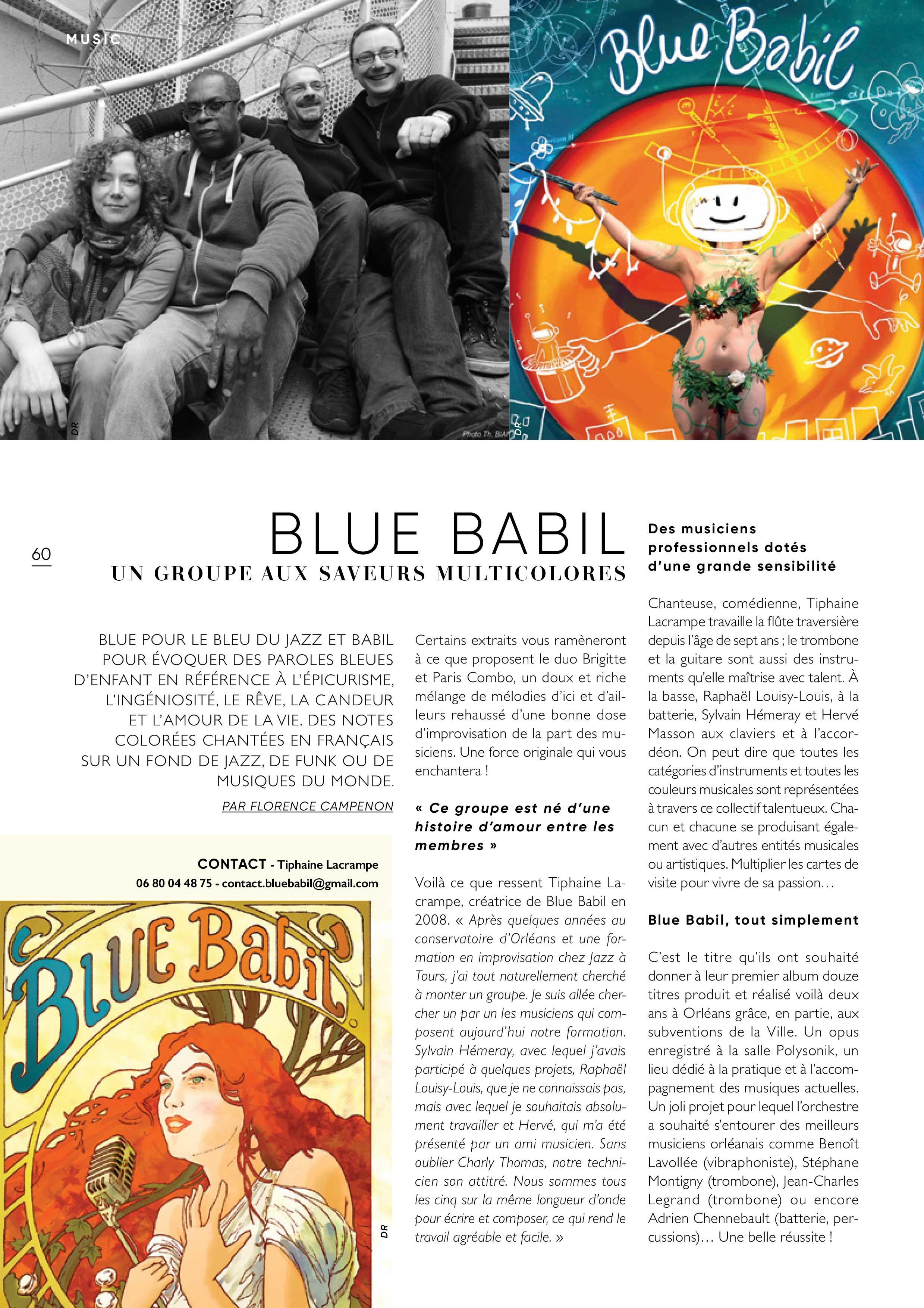 EKLECKTIC Blue Babil